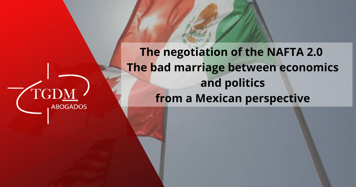 The negotiation of the NAFTA 2.0
